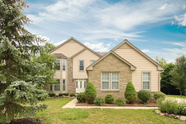 2020 N Woods Court, Canton Twp, MI 48188 (#218068223) :: RE/MAX Classic