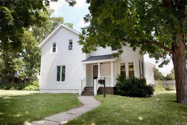 616 E Sibley Street, Howell, MI 48843 (MLS #218068249) :: The Toth Team