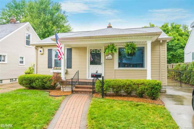 244 Marlin, Royal Oak, MI 48067 (#58031354513) :: Duneske Real Estate Advisors