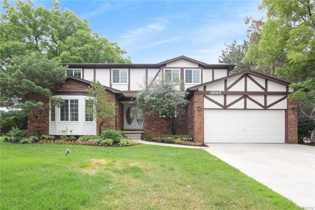 3645 Old Tree Court, Rochester Hills, MI 48309 (#218068365) :: RE/MAX Classic