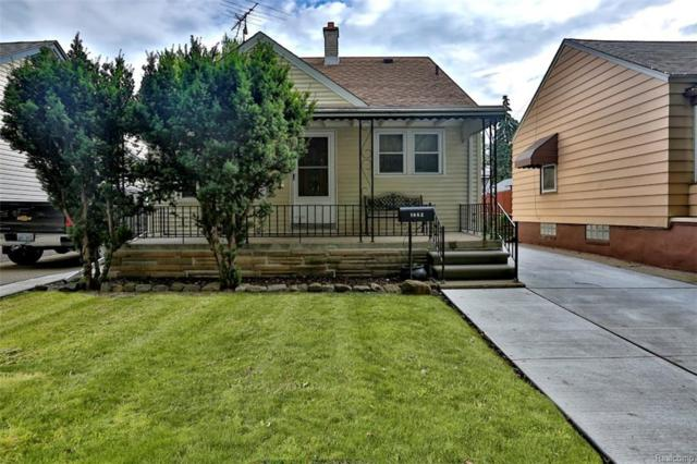 1862 Russell Street, Lincoln Park, MI 48146 (#218068988) :: RE/MAX Classic