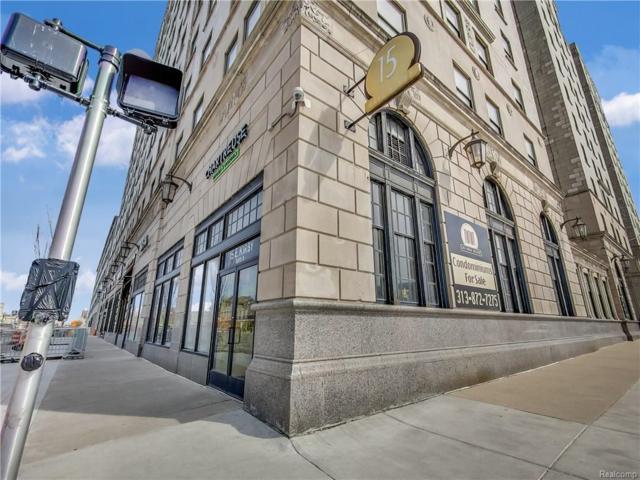 15 E Kirby #424 #424, Detroit, MI 48202 (#218071238) :: RE/MAX Classic