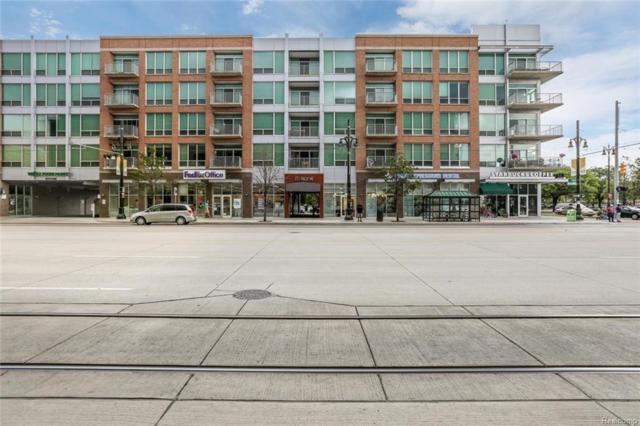 3670 Woodward Avenue #214, Detroit, MI 48201 (MLS #218072355) :: The Toth Team