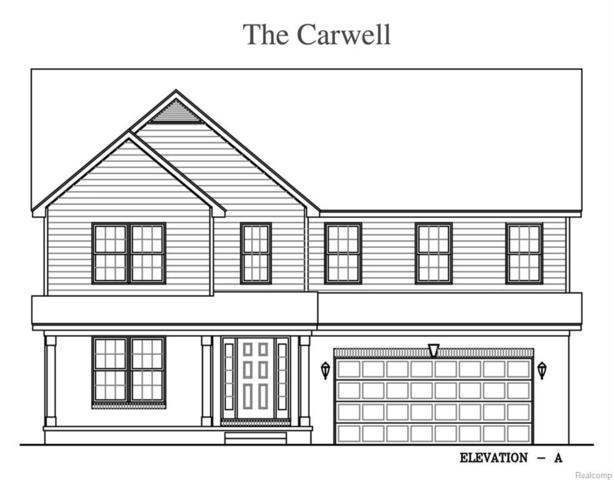 22145 Steppe Lane, Brownstown Twp, MI 48193 (MLS #218073122) :: The Toth Team