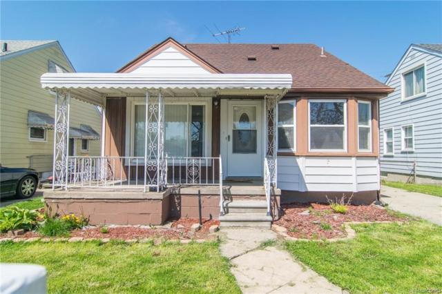 436 White Avenue, Lincoln Park, MI 48146 (#218073353) :: RE/MAX Classic