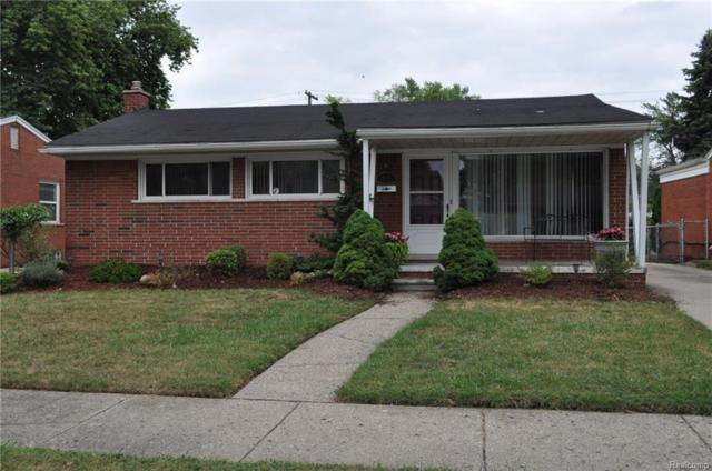 3411 Melwood Drive, Melvindale, MI 48122 (#218073504) :: RE/MAX Classic