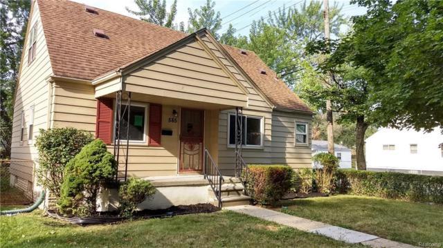 585 Garfield Avenue, Lincoln Park, MI 48146 (#218073856) :: RE/MAX Classic