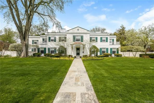 76 Lothrop Road, Grosse Pointe Farms, MI 48236 (#218073874) :: RE/MAX Classic