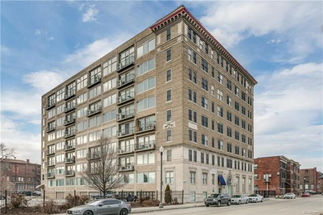 2915 John R Street #212, Detroit, MI 48201 (MLS #218074950) :: The Toth Team