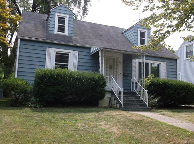 841 Menominee Road, Pontiac, MI 48341 (#218075375) :: The Buckley Jolley Real Estate Team