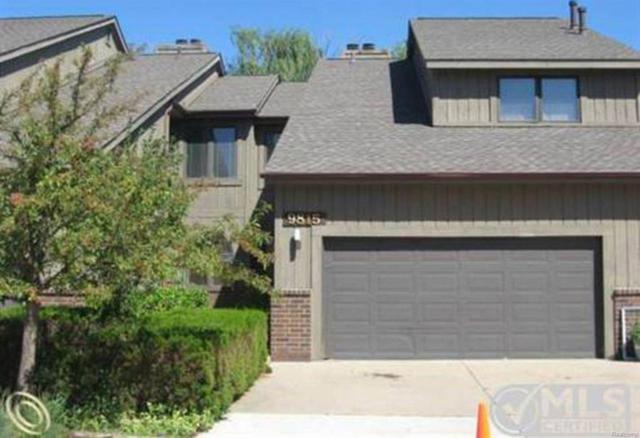 9815 Hawthorne Glen Drive, Gross Ile, MI 48138 (#543259281) :: RE/MAX Classic