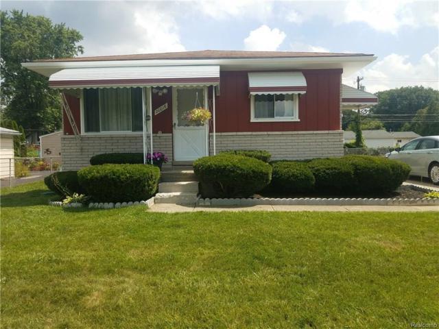 20016 Deering Street, Livonia, MI 48152 (#218075808) :: The Buckley Jolley Real Estate Team