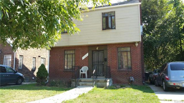 10400 Roxbury Street, Detroit, MI 48224 (MLS #218076097) :: The Toth Team