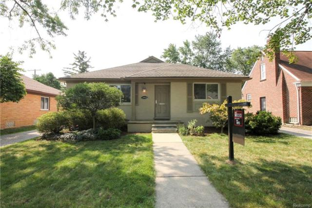 10415 Elgin Avenue, Huntington Woods, MI 48070 (#218076713) :: Keller Williams West Bloomfield