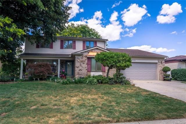 14319 Four Lakes Drive, Sterling Heights, MI 48313 (#218076840) :: RE/MAX Classic