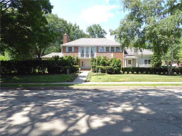1099 N Glenhurst Drive, Birmingham, MI 48009 (#218077765) :: The Buckley Jolley Real Estate Team