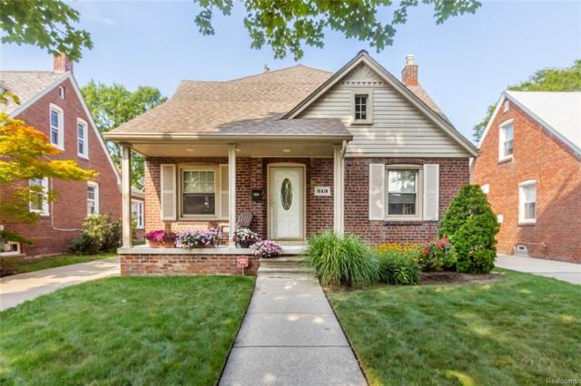 513 Nightingale Street, Dearborn, MI 48128 (#218078103) :: RE/MAX Classic