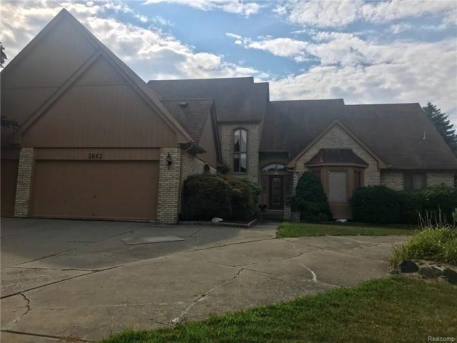3663 Charlwood Drive, Rochester Hills, MI 48306 (MLS #218078449) :: The Toth Team