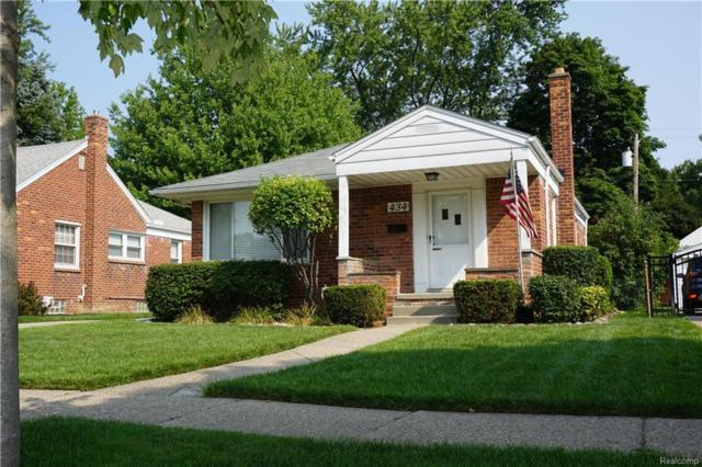 434 Normandy Road, Royal Oak, MI 48073 (#218078634) :: RE/MAX Classic
