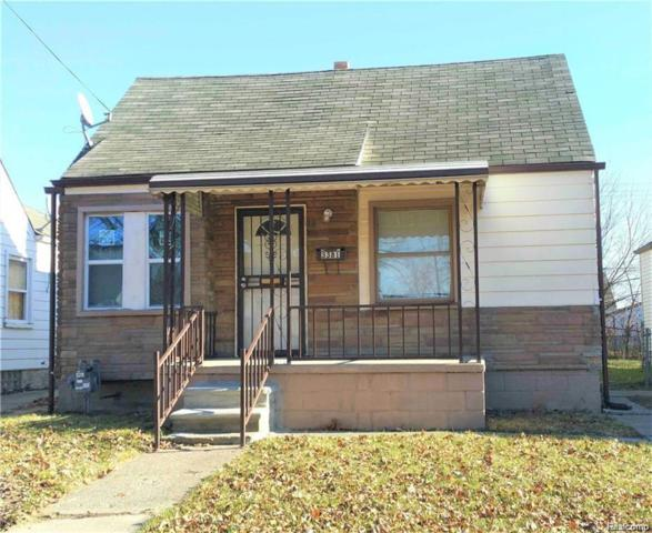 3381 S Ethel Street, Detroit, MI 48217 (#218079022) :: RE/MAX Vision