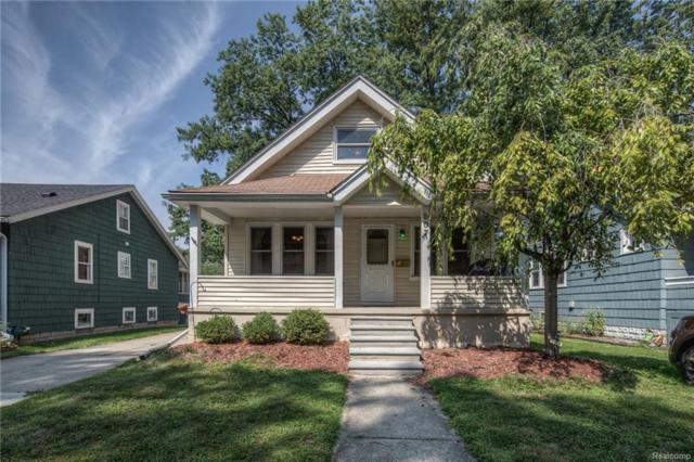 807 Hilldale Drive, Royal Oak, MI 48067 (#218079132) :: RE/MAX Classic