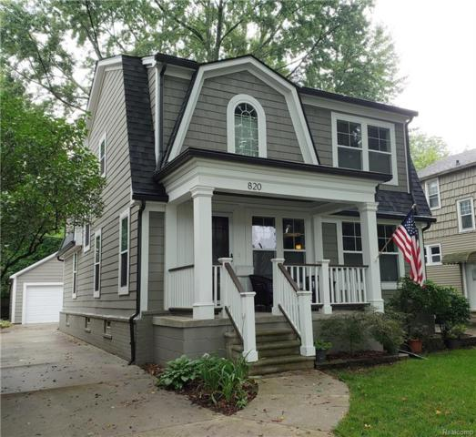 820 Maplegrove Avenue, Royal Oak, MI 48067 (#218079153) :: RE/MAX Classic