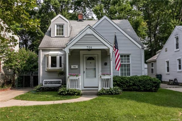706 Royal Avenue, Royal Oak, MI 48073 (#218079865) :: RE/MAX Classic