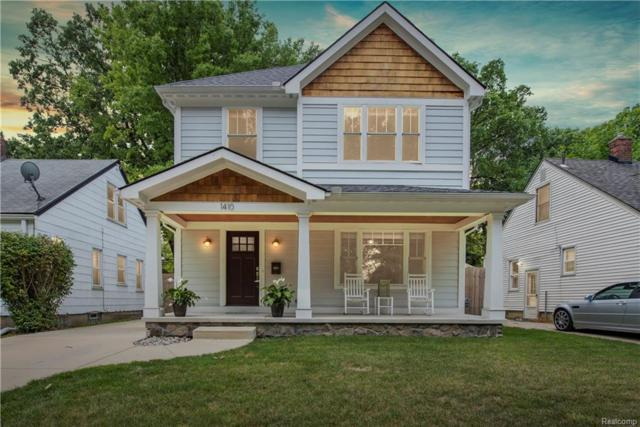 1410 Owana Avenue, Royal Oak, MI 48067 (#218079914) :: RE/MAX Classic