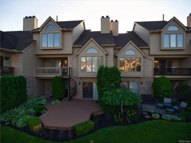 18104 Blue Heron Pointe Drive #34, Northville, MI 48168 (#218080175) :: Keller Williams West Bloomfield