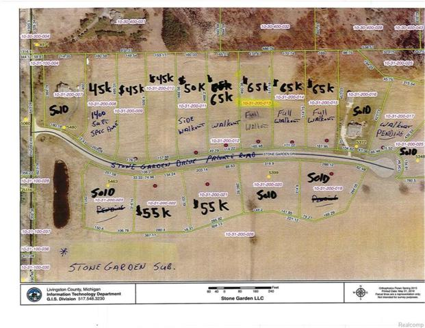 LOT 6 Stone Garden Drive Drive, Marion Twp, MI 48843 (MLS #218080343) :: The Toth Team