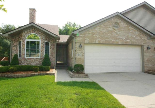 254 Cherry Hill Pointe Drive, Canton Twp, MI 48187 (#543259650) :: RE/MAX Nexus