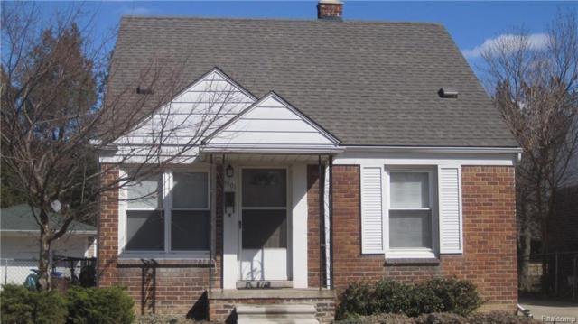 3301 Dallas Street, Dearborn, MI 48124 (#218080390) :: RE/MAX Classic