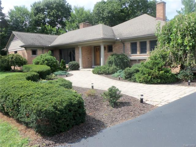 840 Harsdale Road, Bloomfield Twp, MI 48302 (#218081140) :: RE/MAX Vision
