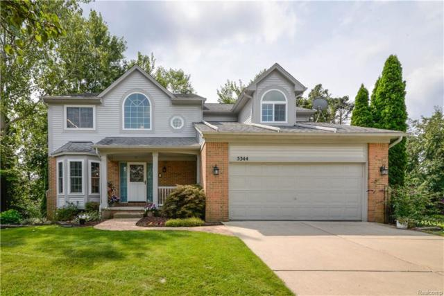5344 Seminole Court, Commerce Twp, MI 48382 (MLS #218081151) :: The Toth Team