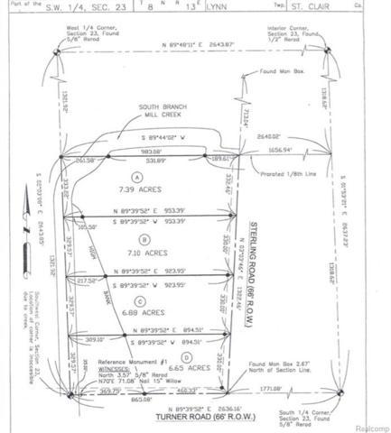 0 Sterling Road, Lynn Twp, MI 48097 (#218082070) :: RE/MAX Nexus