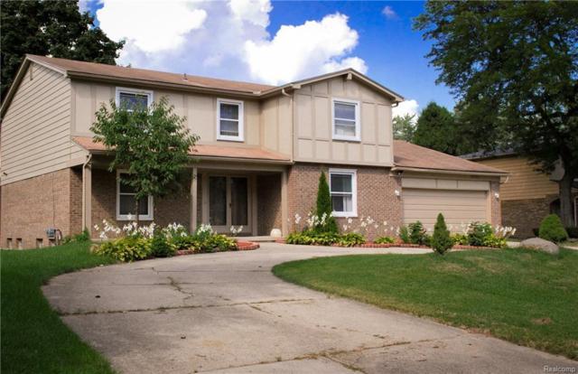 35350 Glengary Circle, Farmington Hills, MI 48331 (MLS #218083457) :: The Toth Team