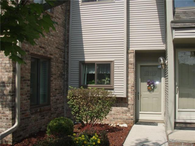 42816 Lilley Pointe Drive, Canton Twp, MI 48187 (MLS #218083543) :: The Toth Team