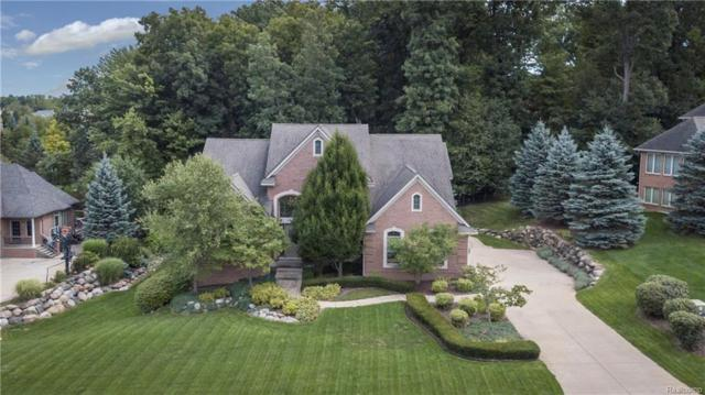 8989 Hidden Court E, Green Oak Twp, MI 48178 (#218084648) :: The Mulvihill Group