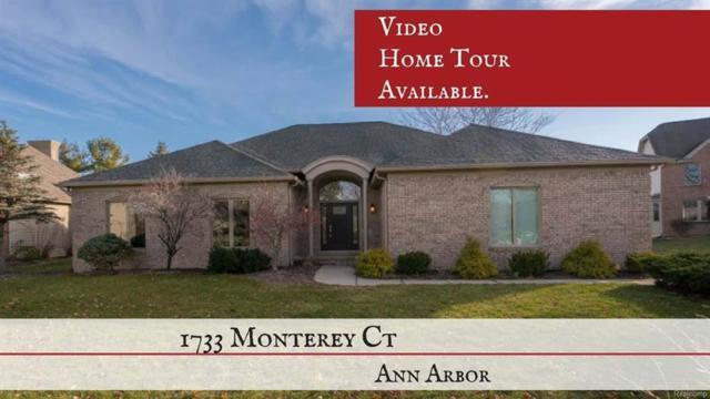1733 Monterey Court, Pittsfield Twp, MI 48108 (MLS #543259875) :: The Toth Team
