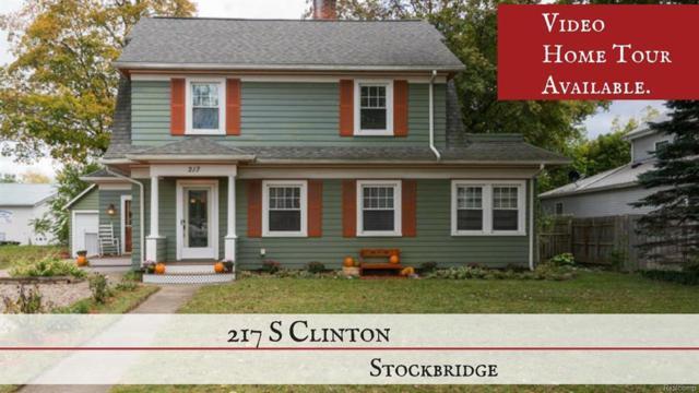 217 S Clinton, Stockbridge, MI 49285 (#543259932) :: Duneske Real Estate Advisors