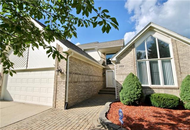 3135 Point Of The Woods Drive, West Bloomfield Twp, MI 48324 (MLS #218084979) :: The Toth Team