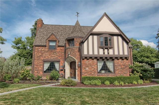 806 Pemberton Road, Grosse Pointe Park, MI 48230 (MLS #218085141) :: The Toth Team