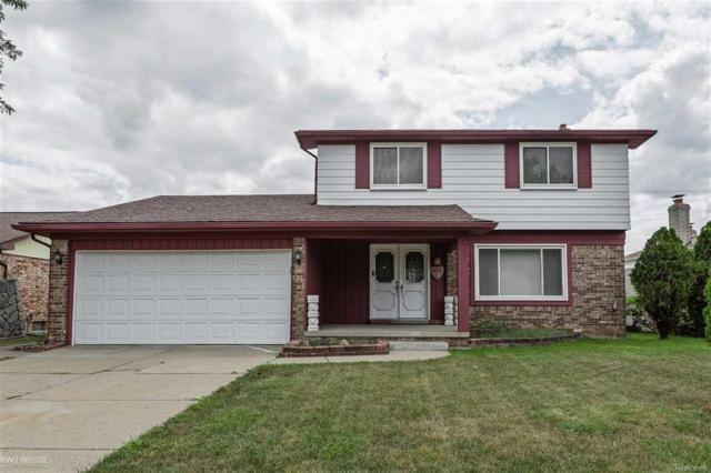 4072 Dickson, Sterling Heights, MI 48310 (MLS #58031358669) :: The Toth Team