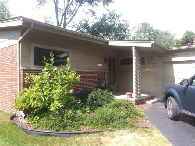 1674 Witherbee Drive, Troy, MI 48084 (MLS #218085273) :: The Toth Team