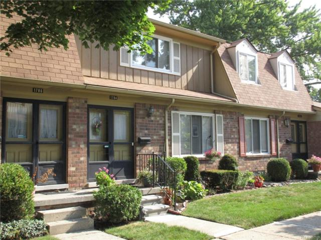 1784 Wickham Street #95, Royal Oak, MI 48073 (#218085491) :: Keller Williams West Bloomfield