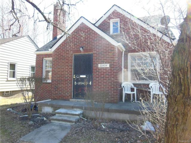 20404 Kingsville Street, Detroit, MI 48225 (MLS #218085835) :: The Toth Team