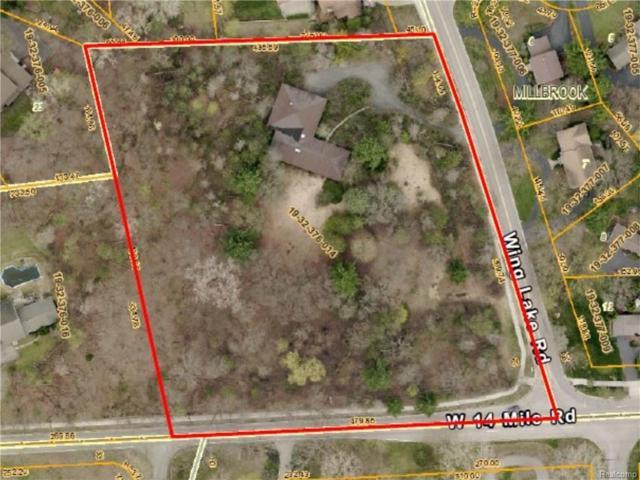 7466 Wing Lake Road, Bloomfield Twp, MI 48301 (#218085882) :: Duneske Real Estate Advisors