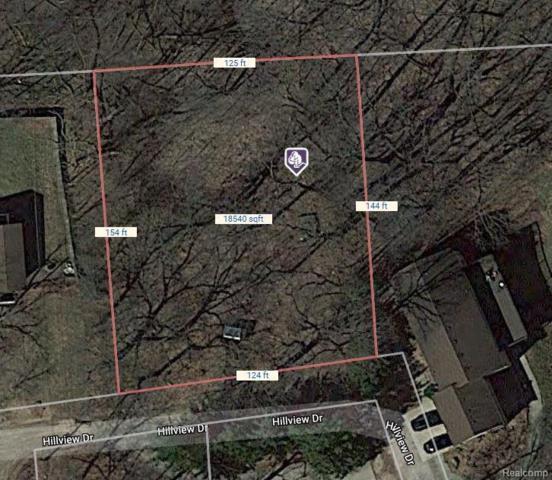 V/L Hillview Drive, Green Oak Twp, MI 48178 (#218086029) :: RE/MAX Classic