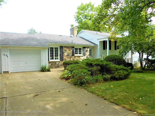 1565 Woodside Drive, East Lansing, MI 48823 (MLS #630000230167) :: The Toth Team