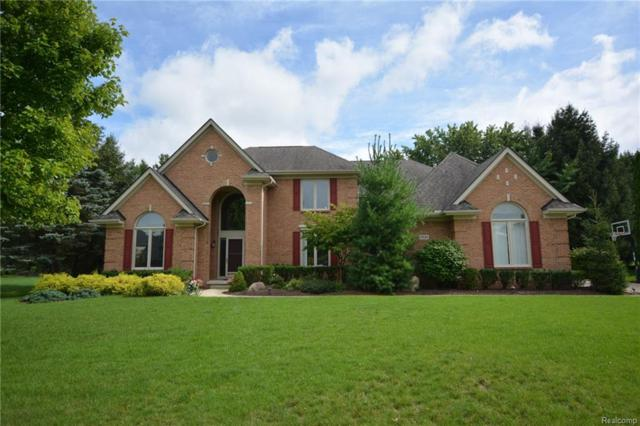 17524 Rolling Woods Circle, Northville Twp, MI 48168 (MLS #218087025) :: The Toth Team